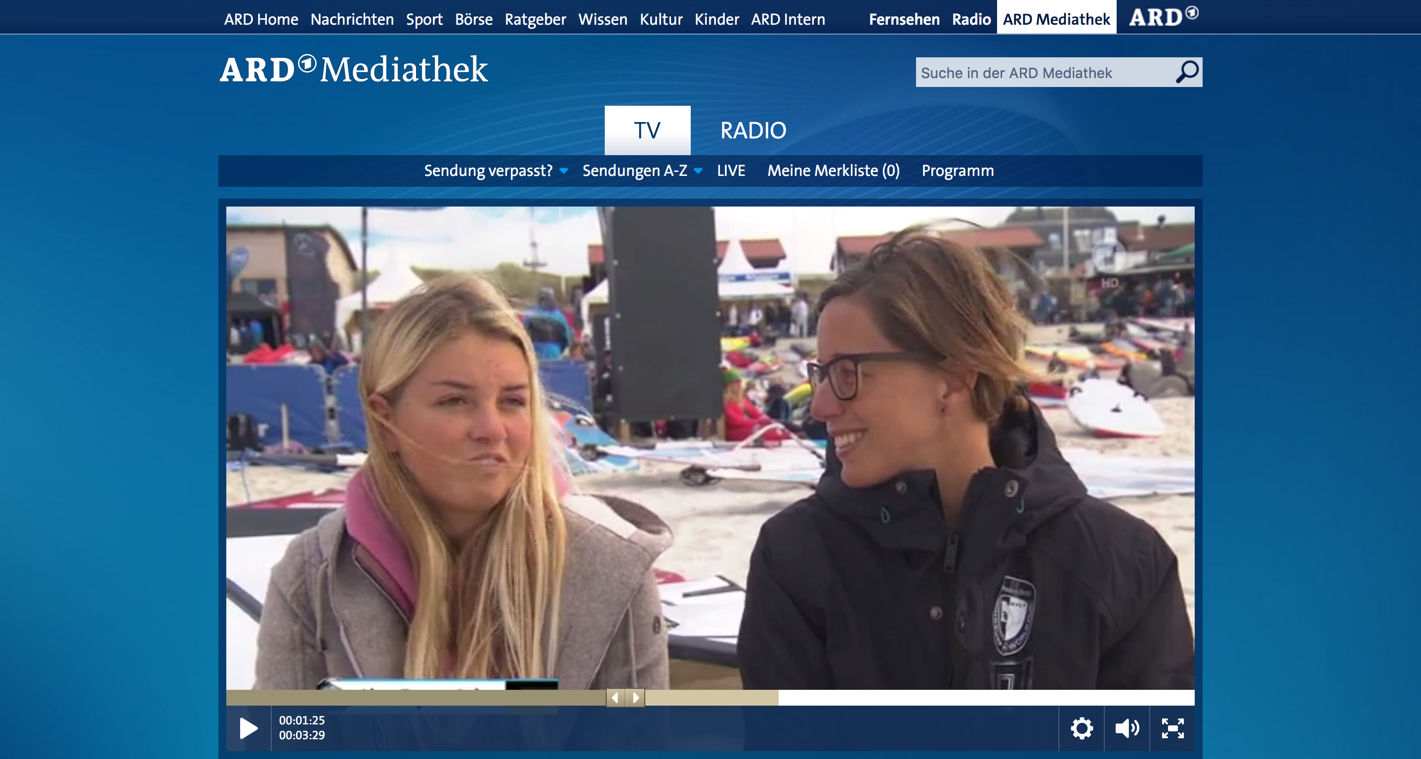 sportschau video